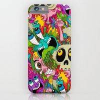 iPhone & iPod Case featuring Puke Pattern by Chris Piascik