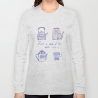 Decorative Teapots Long Sleeve T-shirt