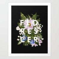 Florescer Art Print