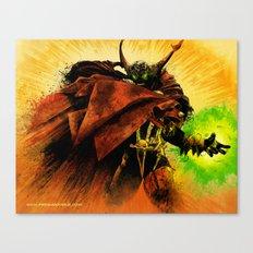Hellspawn Canvas Print
