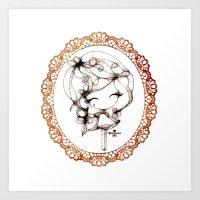Princessmi - Sweet Girl Art Print