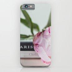 peony and paris iPhone 6 Slim Case