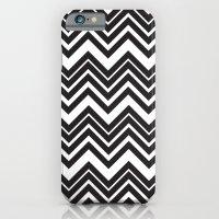 Black Chevron iPhone 6 Slim Case