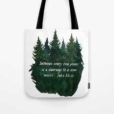 A Dooway To A New World Tote Bag