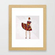 Alice & Olivia Framed Art Print