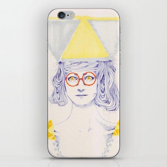 Yellow Triangles iPhone & iPod Skin