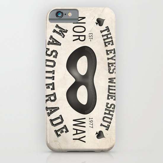 the eyes wide shut iPhone & iPod Case