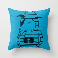 Cool kid Throw Pillow