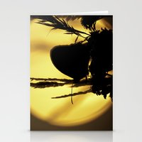 Butterfly Sunset Stationery Cards