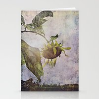 Rural Sky Sunflower Stationery Cards