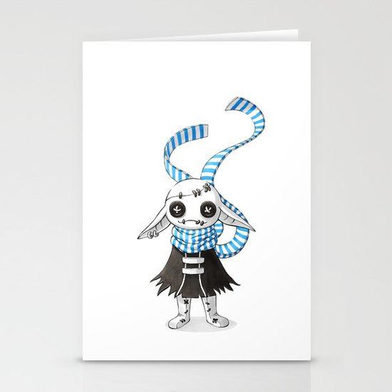 Rag Doll Stationery Card