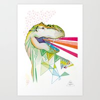 Dinosaur / August Art Print