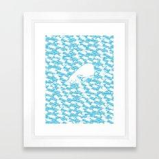 maglinancy seas Framed Art Print