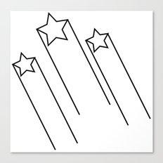shooting stars 2 Canvas Print