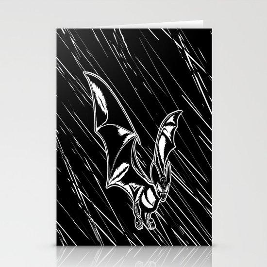 Bat Attack! Stationery Card