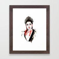 Gala Couture Framed Art Print