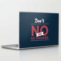 quote Laptop & iPad Skins featuring Quote by Motivational