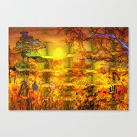 ABSTRACT - Abundance Canvas Print