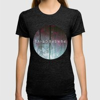 perspective Womens Fitted Tee Tri-Black SMALL