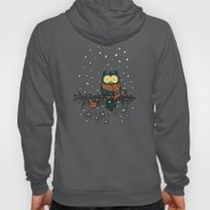 Owl In The Snow V2 Hoody