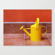 Teracotta Watering Can  Canvas Print