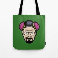 Walter White (Breaking Bad) Tote Bag