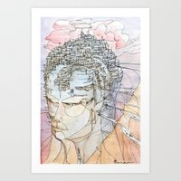 Ricordi Di Sogni Lontani Art Print