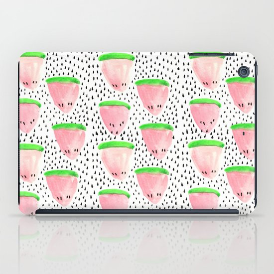 Watermelon Print II iPad Case