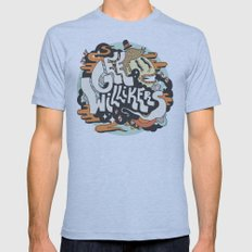 Gee Willikers! Mens Fitted Tee Athletic Blue SMALL