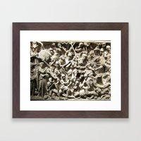 Roman Battle Framed Art Print