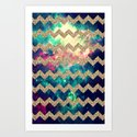 Glitter Space 4 - for iphone Art Print