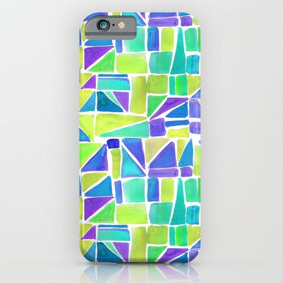 Watercolour Shapes Lemon iPhone & iPod Case