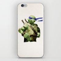 Polygon Heroes - Leonardo iPhone & iPod Skin