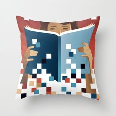 Print to Pixels Throw Pillow