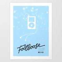 Footloose (2011) - Minim… Art Print