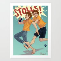 The Stoll Brothers Art Print