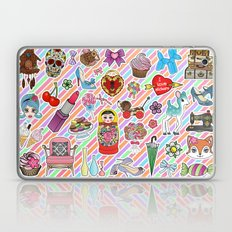 I Love Stickers Laptop & iPad Skin