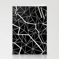 Ab Outline Mod Stationery Cards