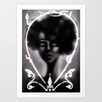 West Rise to Frame Art Print