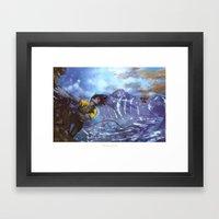 The Messenger Framed Art Print