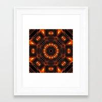 The Time Portal Of Histo… Framed Art Print