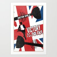 Victory Of The Daleks (3… Art Print
