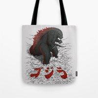 The Great Daikaiju Tote Bag