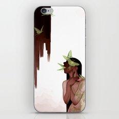 Moths iPhone & iPod Skin