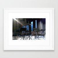 The Stage Framed Art Print