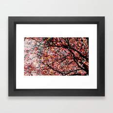 Abstract autumn Framed Art Print