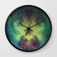 cosmic meditation  Wall Clock