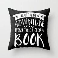 I Start A New Adventure … Throw Pillow