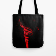 Red Four Tote Bag