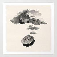 Boulder Dreams Art Print